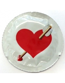 Prezervatīvi EXS Love Heart