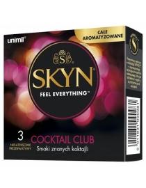 Prezervatīvi SKYN Cocktail Club 3 gab.