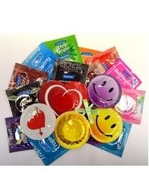 Rotaļīgs prezervatīvu komplekts