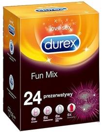 Prezervatīvi Durex Fun MIX komplekts 24gab.