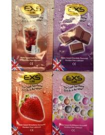 Lubrikants EXS Flavored 4 testeri